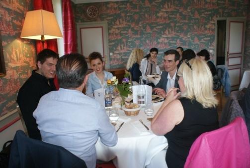 Déjeuner Andrea et Fred à La Baule